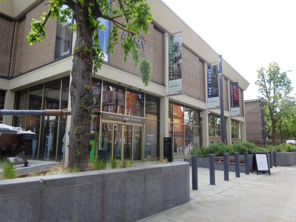 Chelsea war museum, Royal Hospital road, Chelsea - in May 2021
