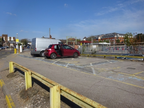 Upminster capr parking for disabled visitors, some parking is very tight for my driving skills