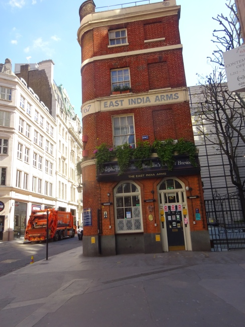 East India Arms, 67 Fenchurch Street EC3M - in June 2021