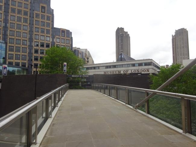 Museum of London,  150 London Wall, EC2Y 5HN in June 2021