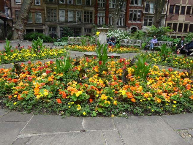 Postmans Park Flowers in July 2021