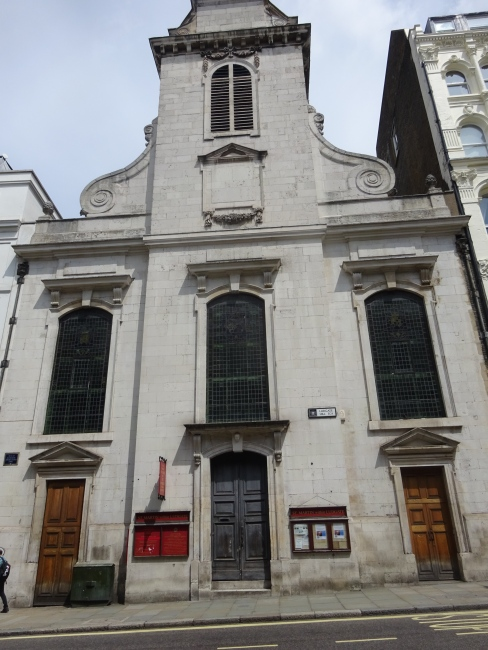 St Martin Ludgate, Ludgate Hill, EC4 - in July 2021