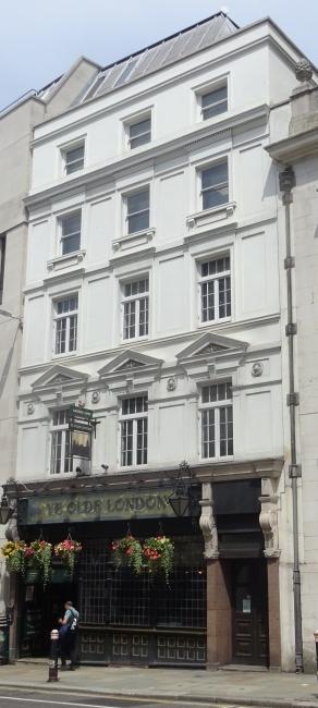 Ye Olde London, 42 Ludgate Hill, EC4 - in July 2021