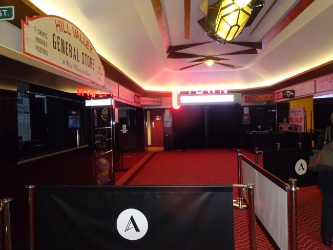 The Adelphi Theatre foyer -  in October 2021