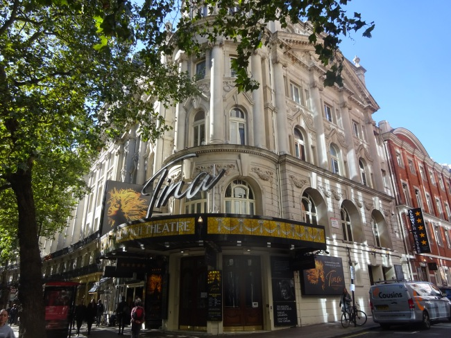 Aldwych Theatre,  49 Aldwych, London in October 2021