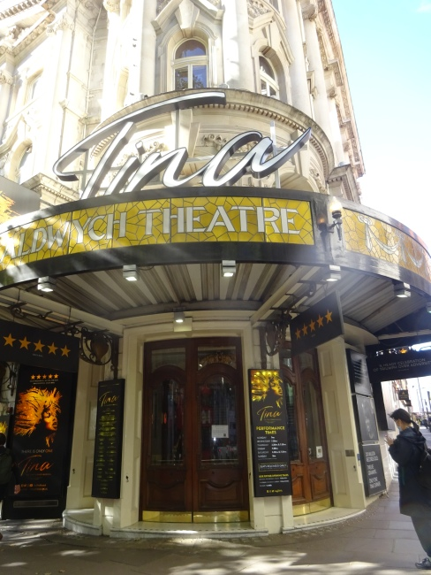 Tina at the Aldwych Theatre,  49 Aldwych, London in October 2021