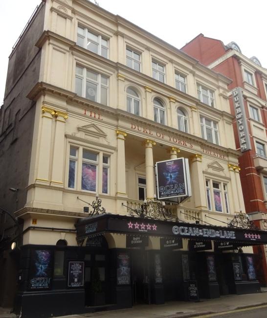 Duke of York's Theatre, 104 St Martin's Lane - in October 2021