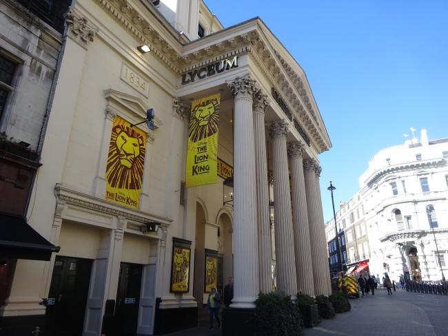 Lyceum Theatre , 21 Wellington Street  - in October 2021