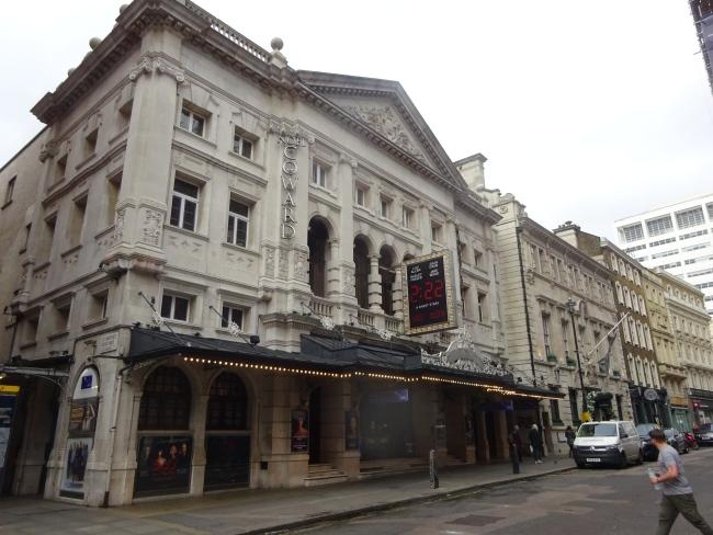 Noel Coward Theatre , 85-88 St Martin's Lane in October 2021