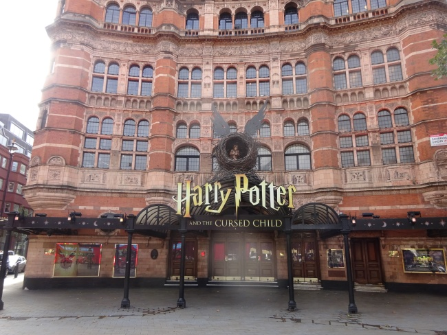Palace Theatre, 109-113 Shaftesbury Avenue - in October 2021