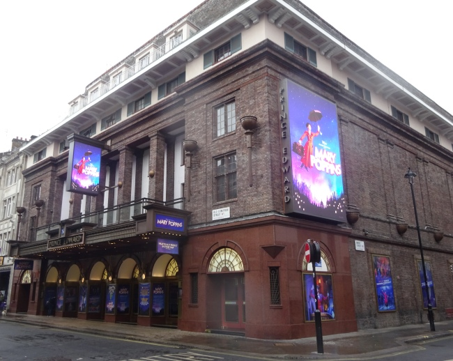 Prince Edward Theatre,  28 Old Compton Street, London, W1D in October 2021