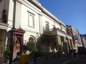 Theatre Royal, Drury lane - in October 2021