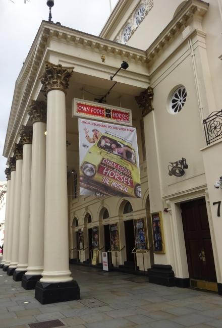 Theatre Royal, Haymarket in October 2021
